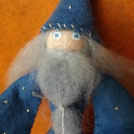 Zogog the Wizard Felt Miniature